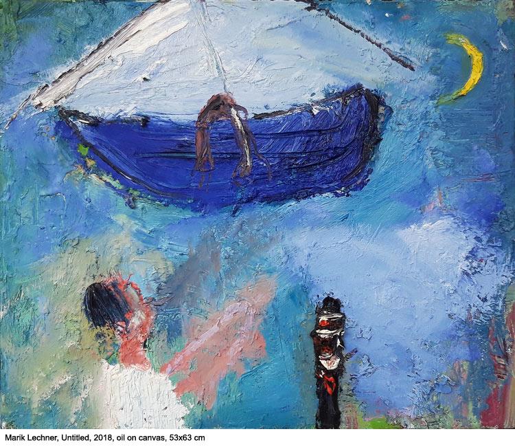 Marik Lechner, Untitled, 2018, 53x63 cm