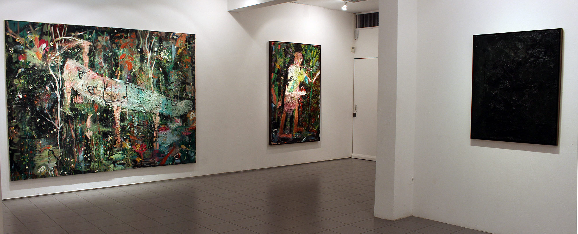 Exhibition view- You Are Alone, 2019, Givon Art Gallery