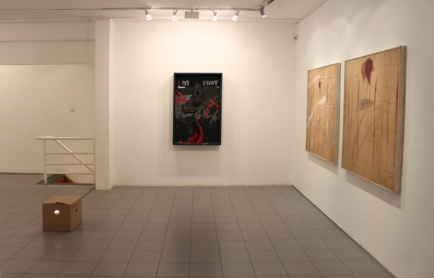 Food for Thought Exhibitoin view Givon Art Gallery 2020